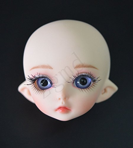 Zgmd 1/8 BJD Doll Ball Jointed Doll Big Eyes Girl With Face Make Up