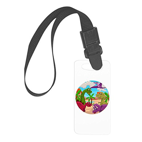 Royal Lion Small Luggage Tag Dinosaurs HD