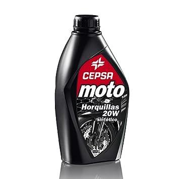 CEPSA 540044188 sintético Aceites para amortiguadores Tenedores y, 1 litro: Amazon.es: Coche y moto