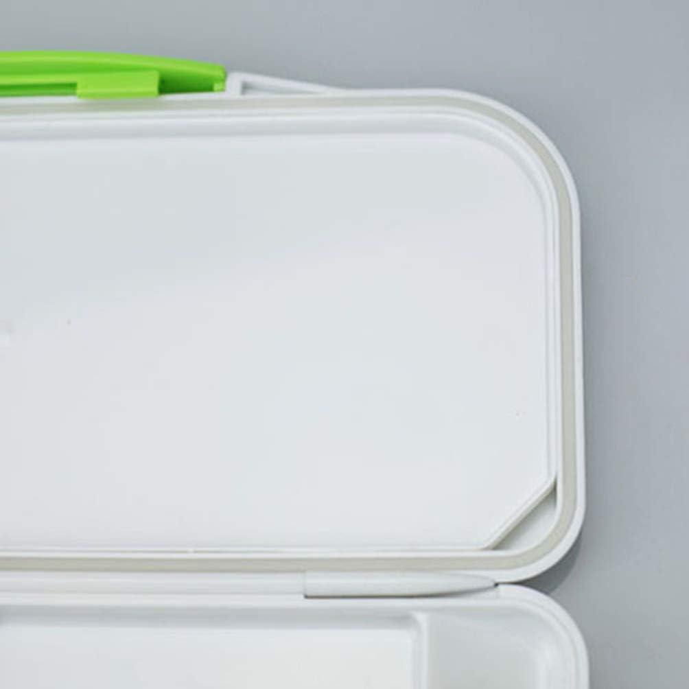 Healifty Palette aquarelle 16 l/ég/èrement inclin/ée 2 zones de m/élange