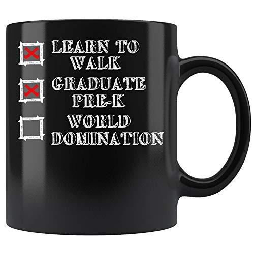 Kids Pre-K Graduation Idea For Boys Coffee Mug 11oz Tea Cups -