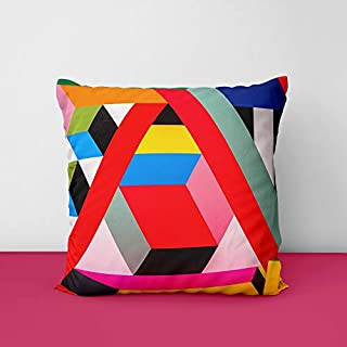 41cruak mVL. SS320 Colour Full Art Square Design Printed Cushion Cover