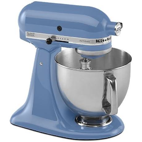 Brand New Kitchenaid Stand Mixer Tilt 5 Quart Ksm150psco Artisan 10 Sp Cornflower Blue