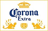 wall decals beer - U$TORE Vinyl Sticker CORONA EXTRA Logo Decorative Decal Mexican Beer Cerveza Car For Bar Wall Windows Truck Car Bumpers Laptop Water Resistant - 8