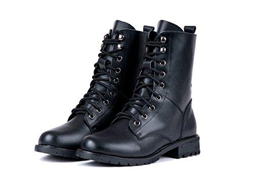 Negro cooshional Botas para cooshional mujer para Botas YFdFqw8
