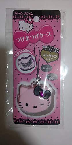 Hello Kitty Cosmetics Case Pink (strap type, mobile) | Sanrio Licensed (case for Eyelash, Nail etc) [Japan Import] -