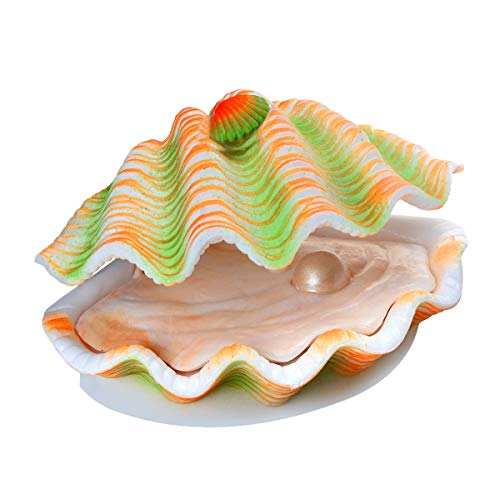 Saim Tropical Clam Live-Action Aerating Aquarium Ornament ()
