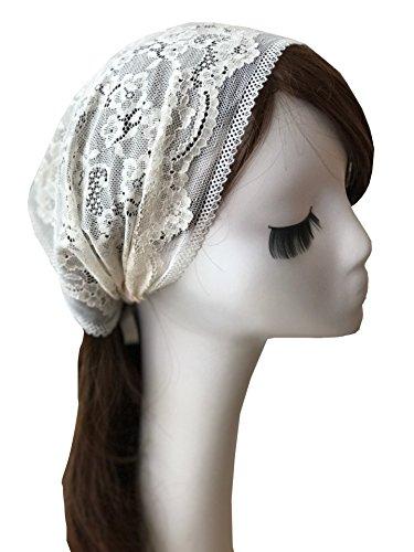Stretch Veil (Hotsale Floret Headband Stretch Lace Headwrap Lace Veil V09)