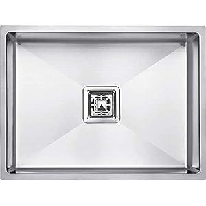SERIES304 24″ x 18″ x 10″ Handmade MATT Finish Single Bowl Stainless Steel Kitchen Sink