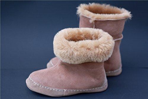 Espaniol 02 Zapatos de piel de cordero para hombres color beige