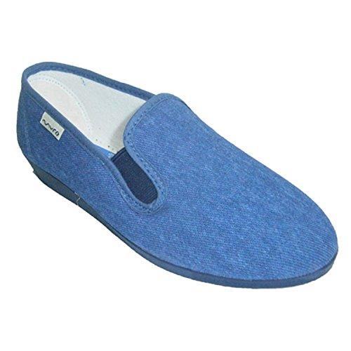 Chaussure basse classique de coin Muro en tejano
