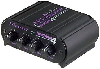 Art headamp4/Amplificateur pour casque st/ér/éo avec 8/sorties