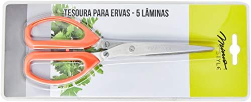 Tesoura Mimo Style ALA1395 Vermelho