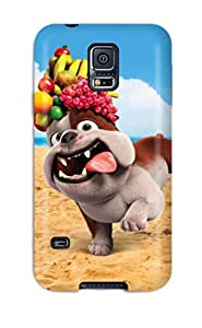 Tough Galaxy ChLeFPV2674tELfG Case Cover/ Case For Galaxy S5(luiz Bulldog In Rio)