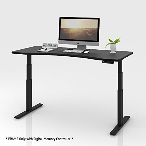 Adjustment Motor (DEVAISE Ergonomic Electric Height Adjustable Standing Desk Frame with Memory Controller, Dual Motor, Black)