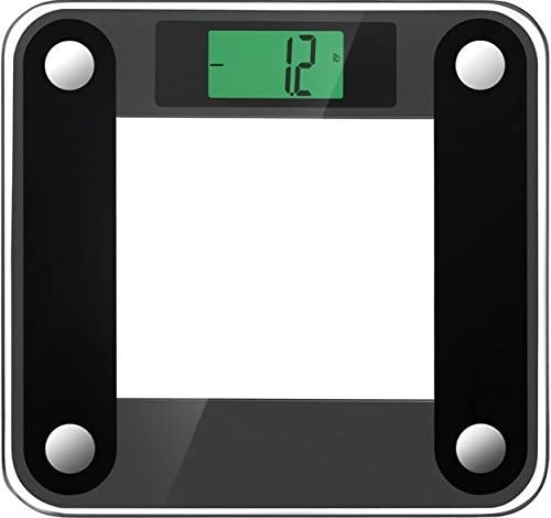 Ozeri Precision II 440 lbs Capacity , with Weight Change Detection Technology StepOn Activation Digital Bathroom Scale