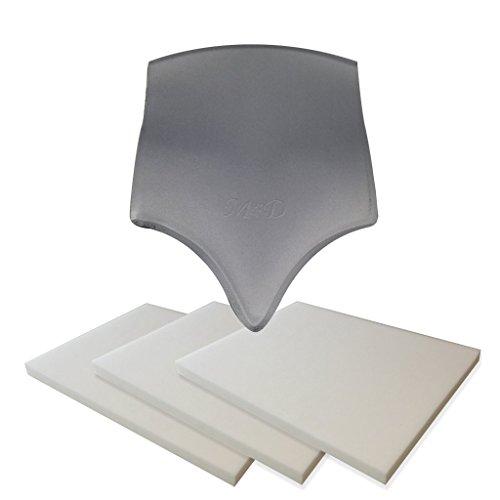 Price comparison product image Lumbar Molder BBL & Lipo Foam Post-Surgical Liposuction Board & Foam - Moldeador Lumbar (Lumbar Board + 3 Lipo Foams,  Unique)