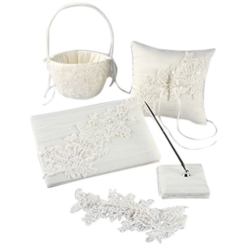 Sea of Petals Collection Gift Set Style DB94GS, Ivory by David's Bridal