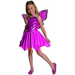 Barbie Fairytopia Mariposa and Her Butterfly Fairy Friends Halloween Sensations Mariposa Costume, Toddler 1-2