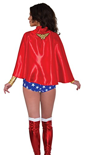 Rubie's Costume Co Women's DC Superheroes Wonder Woman Cape, Multi, One Size