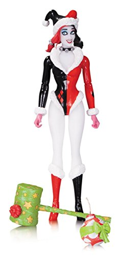 DC Collectibles Comics Designer Series: Amanda Conner Holiday Harley Quinn Action ()