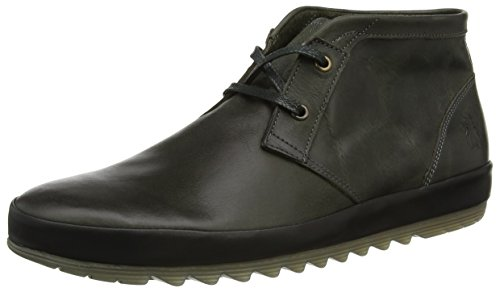FLY London Mipa698fly, Botines para Hombre Verde (Green Black)