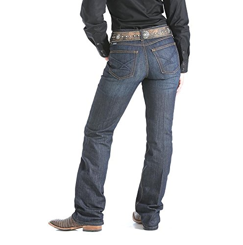 Cinch Women's Jenna Relaxed Fit Jeans Indigo 17 REG - Reg Fit Jeans