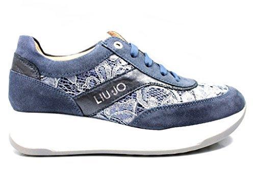 Femmes Chaussures Ivoire 00346 Jeans LIU Chaussure L4A4 JO Jeans Confortable Baskets GIRL et Pour qWYwv8x