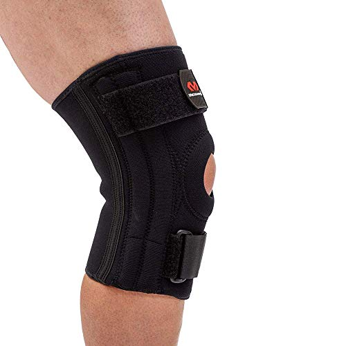 bd6b998975 McDavid 421 Level 2 Knee Support with Stays, Black, Large available ...