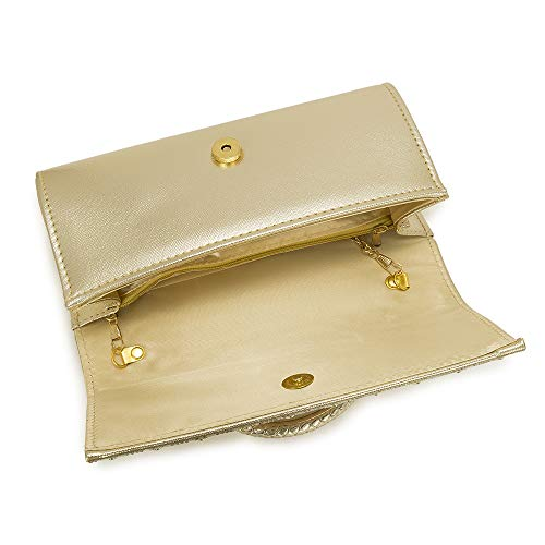 Women shoulder diamonds handbags handle bags ladies 11 Style gold evening bag Bag clutch Vintage for crystal XvqwEg
