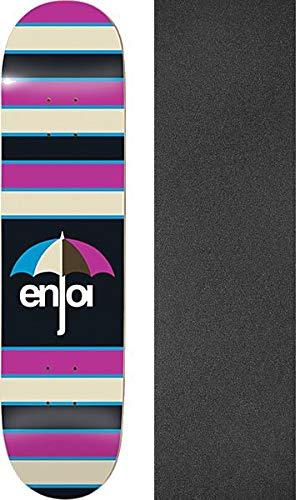Enjoi スケートボード ストライプ - パープル スケートボードデッキ 8インチ - 8インチ x ストライプ 31.6インチ ジェサップブラックグリップテープ付き - 2個セット B07K3WQGBV, AOZOLLA HOME:b143ba2b --- grupocmq.com