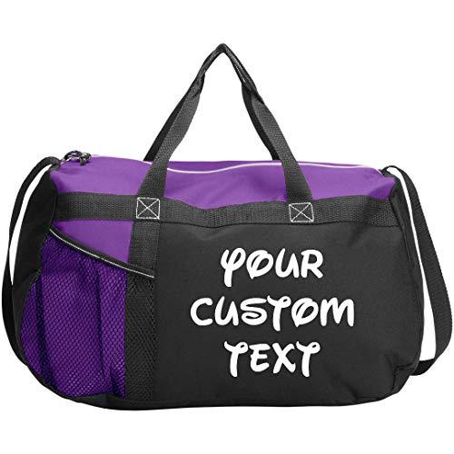 Personalized Gym Sports Duffel Bag: Gym Duffel