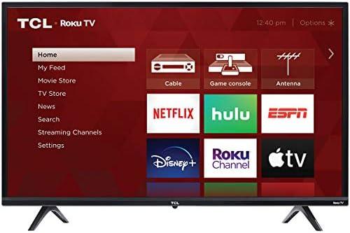 TCL 32″ 3-Series 720p Roku Smart TV – 32S335