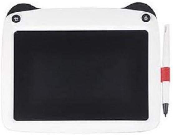 FastDirect Tragbares 22,9 cm großes LCD-Grafiktafel, farbige Handschrift, Skizzenblock, Schreibtablett, Kinder, Zeichenbrett, Pads mit Löschmechanismus, Weiß Grau