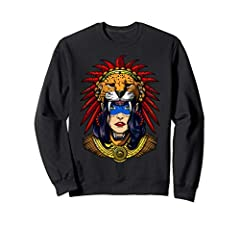 This Aztec Jaguar Warrior Native Mexican Mayan Princess product makes a perfect gift for any ancient civilizations history lover.This graphic design features a female aztec jaguar warrior princess and makes a great gift for any native mexican...