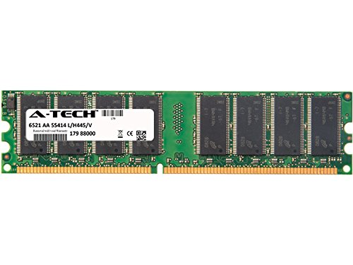 1GB Stick for Dell Dell Dimension 2400 4550 (400Mhz Bus) 4550 (533Mhz Bus) 4590T XPS. DIMM DDR Non-ECC PC2100 266MHz RAM Memory. Genuine A-Tech Brand.