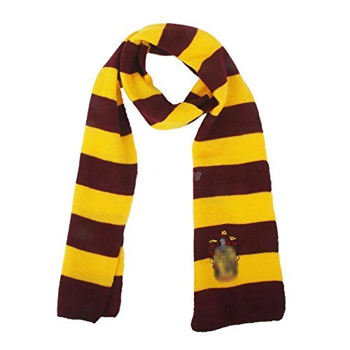 Scarf Warp Prop Cos Play Fancy Dress Scarves Costume (Gryffindor)