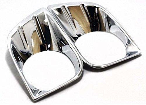 ABS Chromed Front Fog Light Lamp Cover Trim For Toyota Prado FJ150 2010-2013 (Toyota Prado Lamp compare prices)
