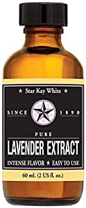 Star Kay White Extracts Pure Extract, Lavender, 2 Ounce