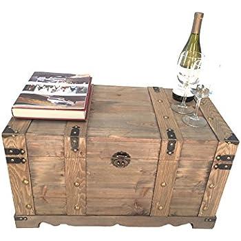 Styled Shopping Huntington All Cedar Medium Wood Storage Trunk Wooden  Treasure Chest