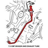 YHB Exhaust Back Pressure EBP Tube Sensor & Wire