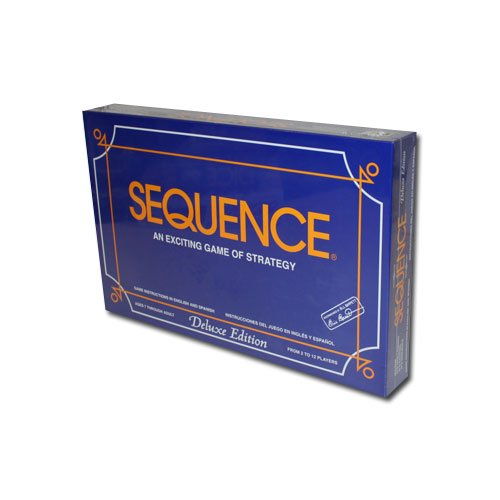 Deluxe Sequence Board Game - Includes Bonus Deck of Cards! ()