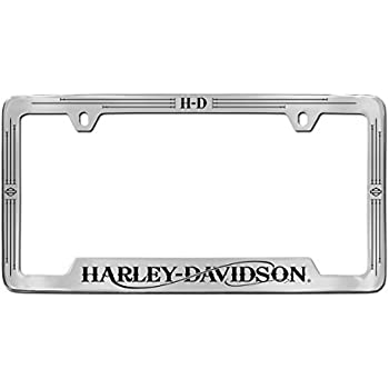 Amazon.com: Harley-Davidson Bottom Engraved License Plate Frame ...