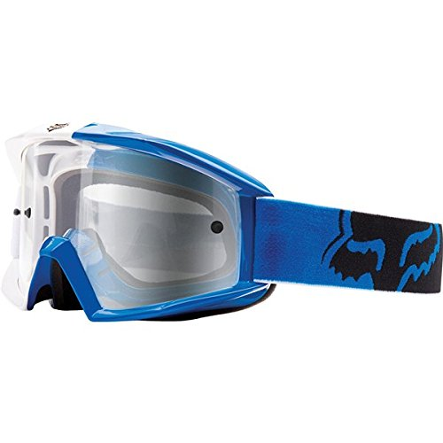 Fox Racing Main 180 Race Adult MX Motorcycle Goggles Eyewear - Blue/Clear / One Size Fits All