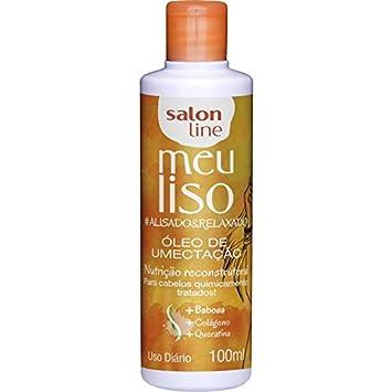 Linha Tratamento (Meu Liso) Salon Line - Oleo De Umectacao #Alisado&Relaxado 100 Ml