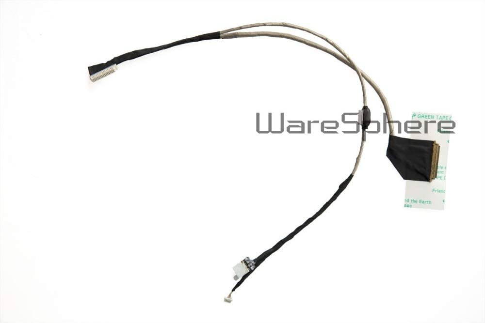 Connectors New Laptop LCD LED LVDS Video Flex Cable for ACER Aspire One D250 AOD250 KAV60 Carbon Screen Video Cable DC02000SB50 - (Cable Length: Other)