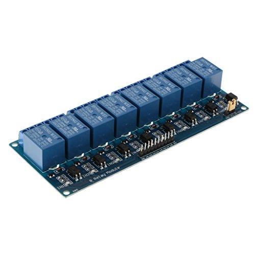 D DOLITY Módulo De Relé DC 5V De 8 Canales Para Arduino Raspberry Pi DSP AVR PIC ARM