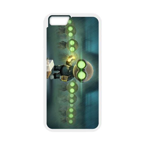 Stealth Inc. 2 A Game Of Clones 4 coque iPhone 6 Plus 5.5 Inch cellulaire cas coque de téléphone cas blanche couverture de téléphone portable EEECBCAAN01306