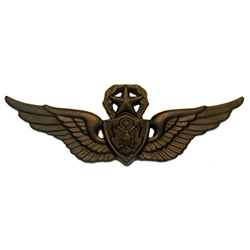 Army Senior Aviator Black Submetal Badge