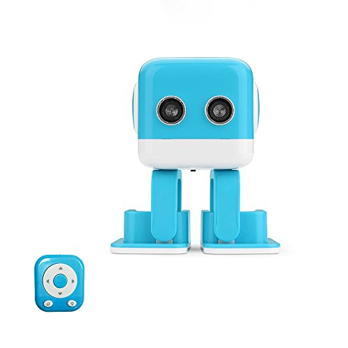 RC Robot,ToyPark F9 Intelligent Entertainment Electronic Smart Robot with APP Programming Bluetooth Audio and LED Light for Children's Multifunction Educational Learning Toys